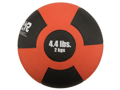 Reactor Rubber Medicine Ball (4.4 lb - Red)