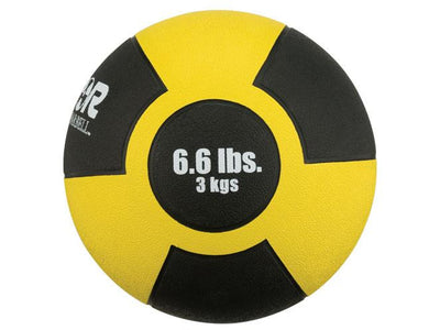 Reactor Rubber Medicine Ball (6.6 lb - Yellow)