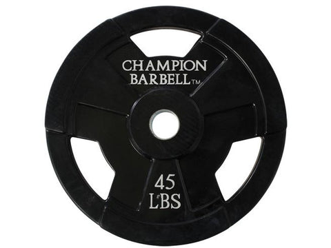 45lb. Olympic Rubber Coated Grip Plate