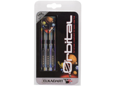 Elkadart Orbital Soft Tip Darts Knurl Ringed Barrel