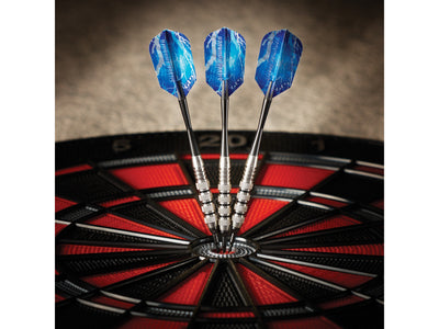 Viper Silver Thunder Soft Tip Darts 4 Knurled Rings 16 Grams