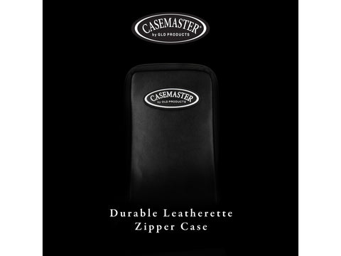 Image of Casemaster Mini Pro Black Leather Dart Case