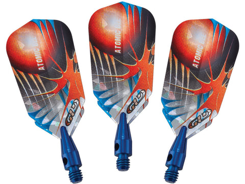 Image of Viper Atomic Bee Blue Soft Tip Darts 16 Grams