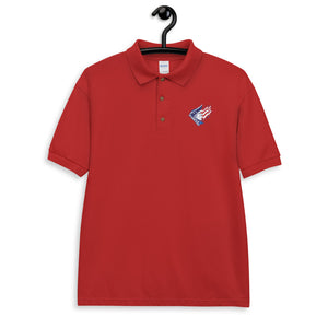 The Raging Patriot Embroidered Polo Shirt