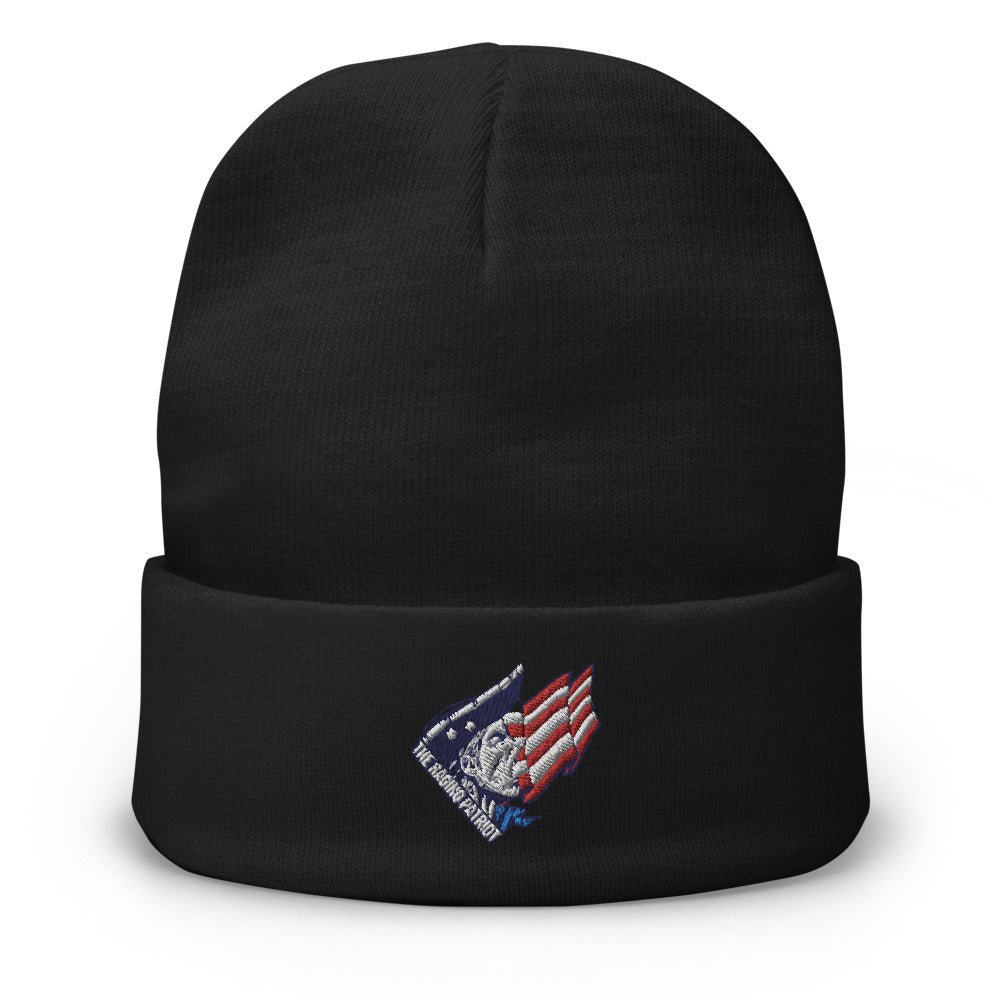 The Raging Patriot Embroidered Beanie