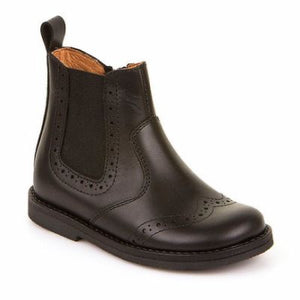 Froddo Chelsea Boot - Black Matt