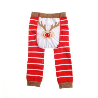Load image into Gallery viewer, Ziggle UK Christmas Rudolph Leggings