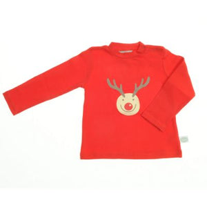 Load image into Gallery viewer, Ziggle Rudolph Reindeer Top