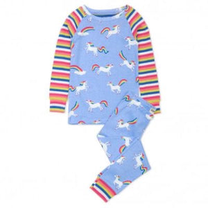 Rainbow Unicorns Organic Cotton Pyjamas