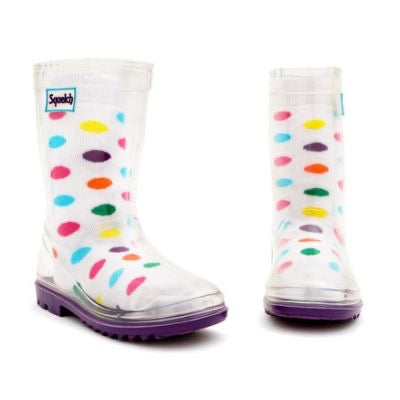 Load image into Gallery viewer, Squelch Socks - Spots. One Size ages 3-6.