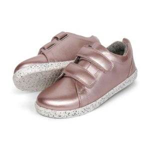 Bobux Grass Court Waterproof - Rose Gold Kid+