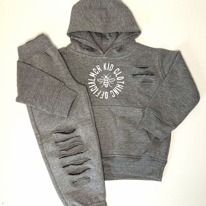 MCR Kid Official Tracksuit - Grey