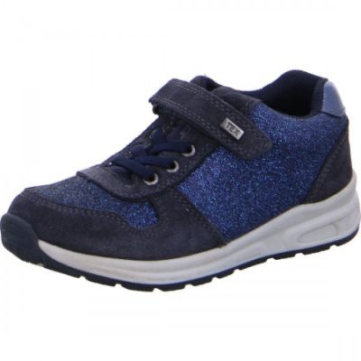Lurchi Waterproof Trainers Navy Glitter