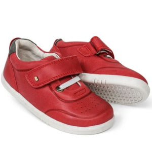 Bobux Ryder Red/Charcoal