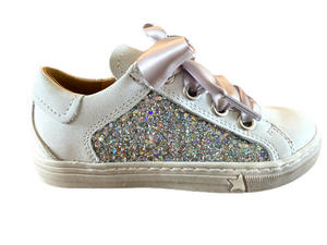 Load image into Gallery viewer, Froddo Star Trainer Shoe - White/Silver