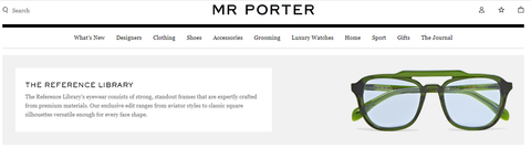 The Reference Library on Mrporter.com