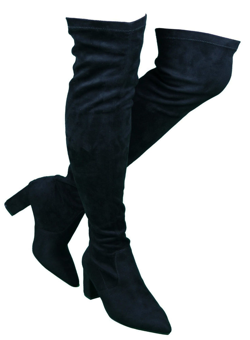 AMIYA-04 best designer boots for women