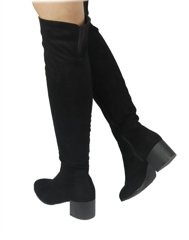 CATHERINE-06 best designer boots for women