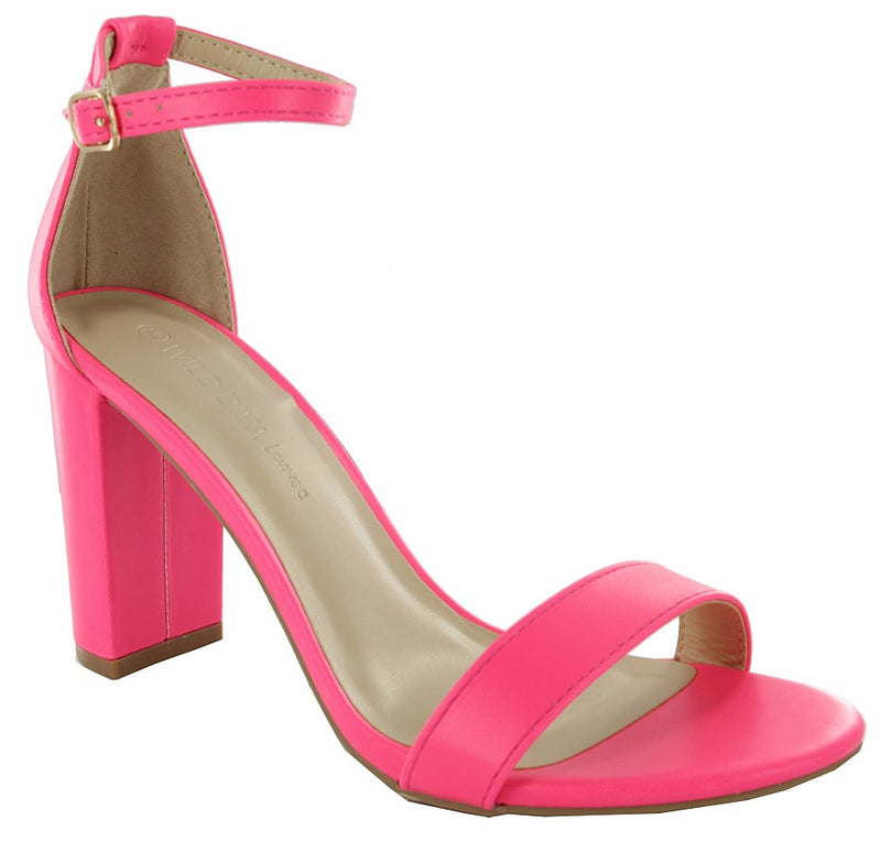 MORRY-01 Chunky Block Heeled Sandals