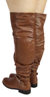 OKSANA-320W WIDE FIT KNEE HIGH BOOTS
