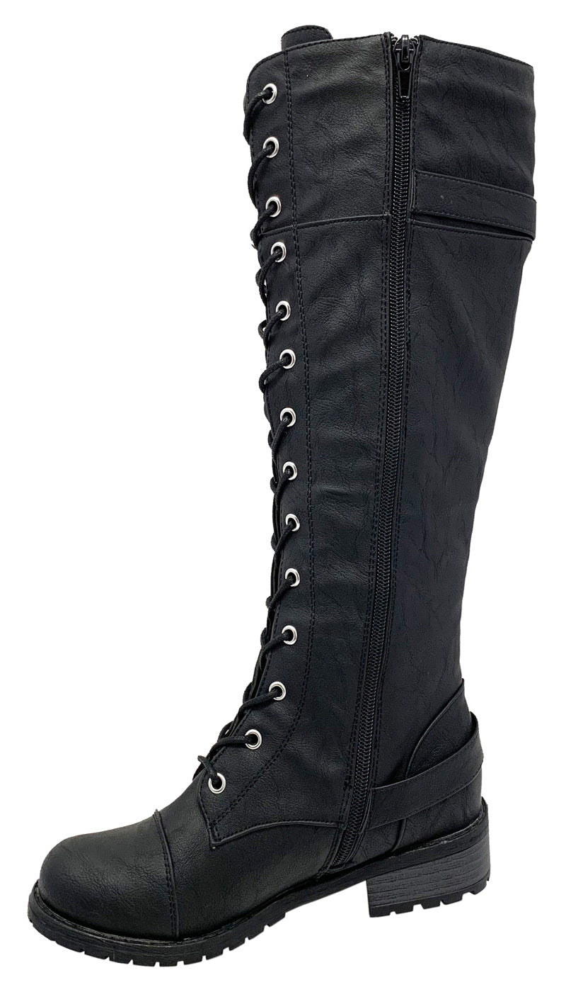 Timberly 282 wild diva military boots