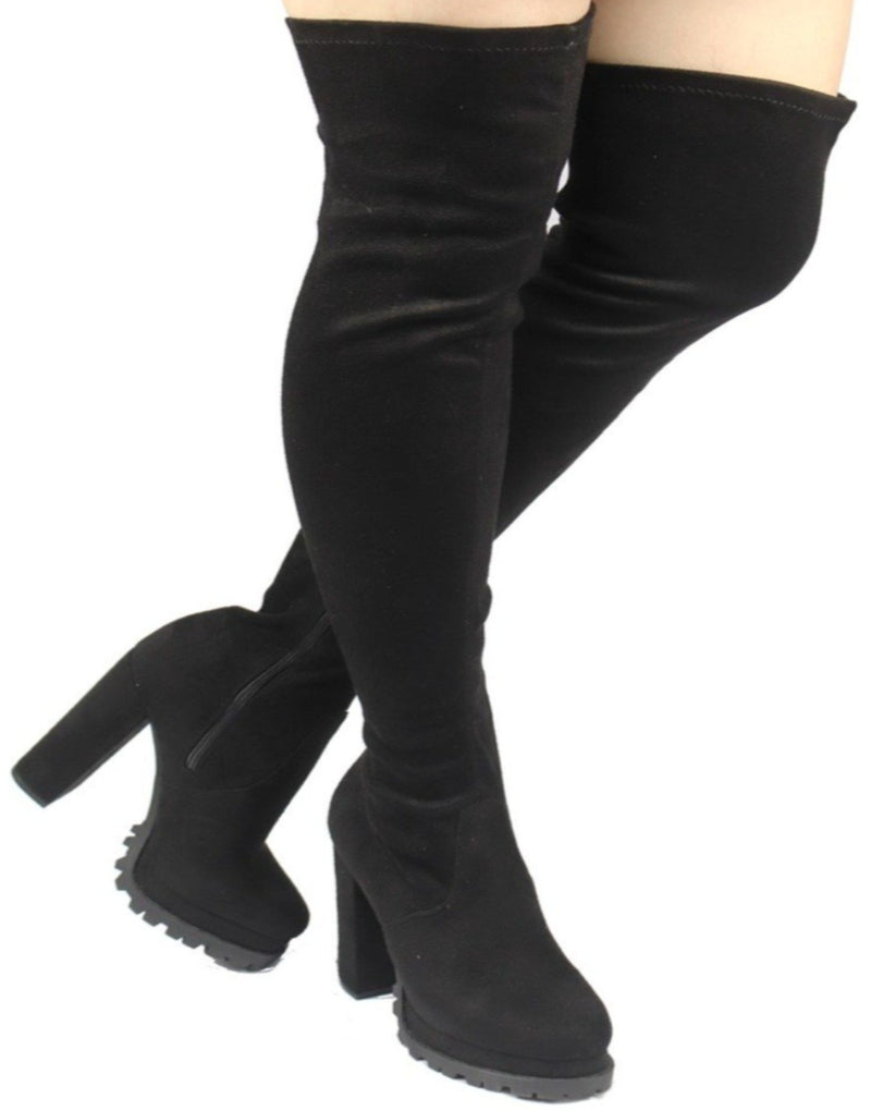 Vivan-21 sexy winter boots women