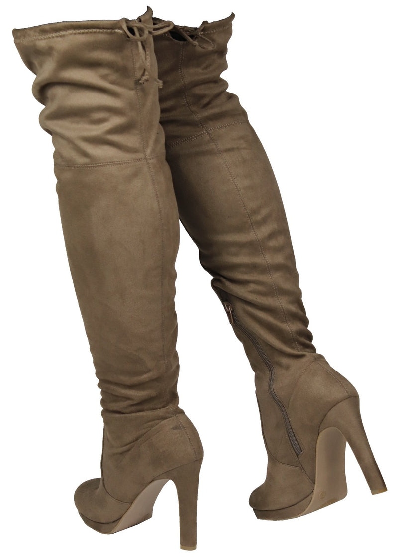 YALA-05 KNEE HIGH BOOTS