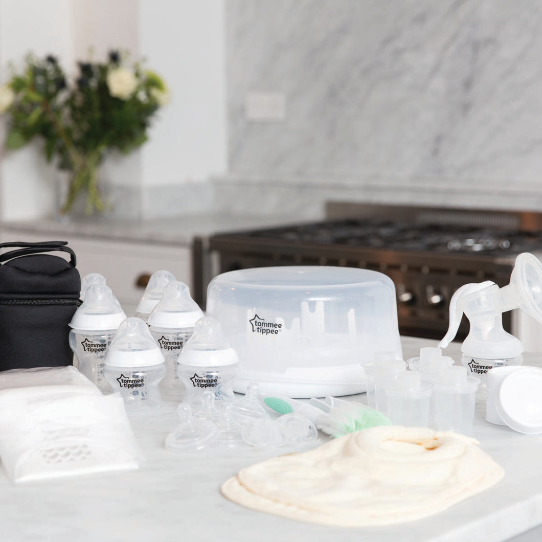 Microwave Sterilizer & Breast Pump Kit
