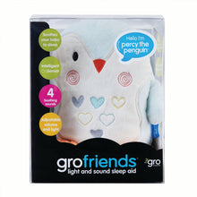 Load image into Gallery viewer, Grofriend Percy The Penguin Light & Sound Sleep Aid