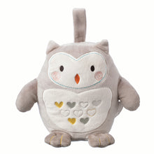 Load image into Gallery viewer, Grofriend Rechargeable Ollie The Owl Light & Sound Sleep Aid