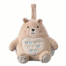 Load image into Gallery viewer, Grofriend Rechargeable Bennie The Bear Light & Sound Sleep Aid