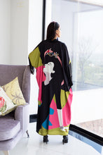 Load image into Gallery viewer, Wearable Art - Love Lady Kimono