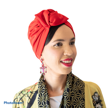 Load image into Gallery viewer, Red Turban