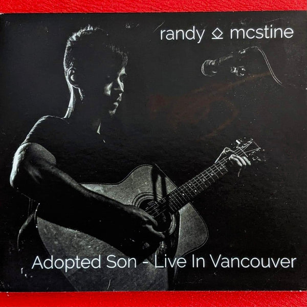 "Randy McStine ""Adopted Son - Live in Vancouver"" CD"