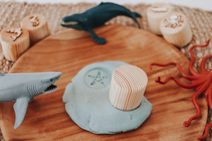 Playdough Stamps | Sea Creatures