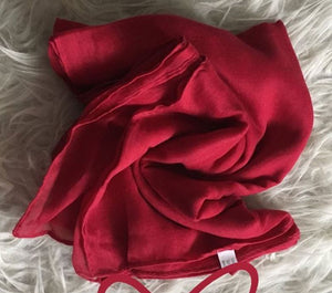 Red Plain Viscose