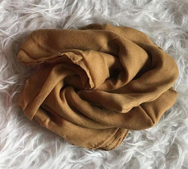 Gold Plain Viscose