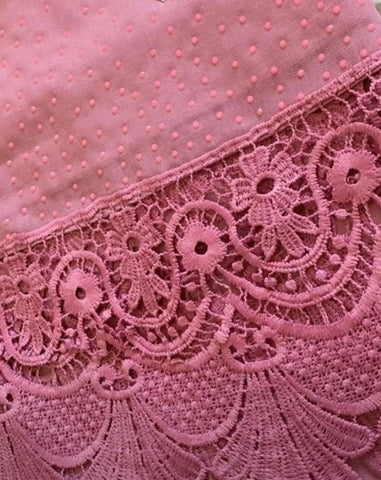 Pink Diamond Lace