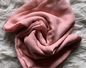 Light Pink Plain Viscose