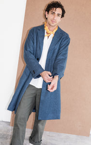 Kapok Down Chester Coat-Unisex