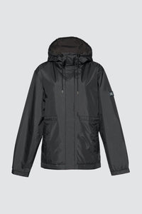 Kapok Down Hooded Jacket-Women's