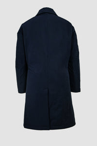 Kapok Down Balmacaan Coat-Men's