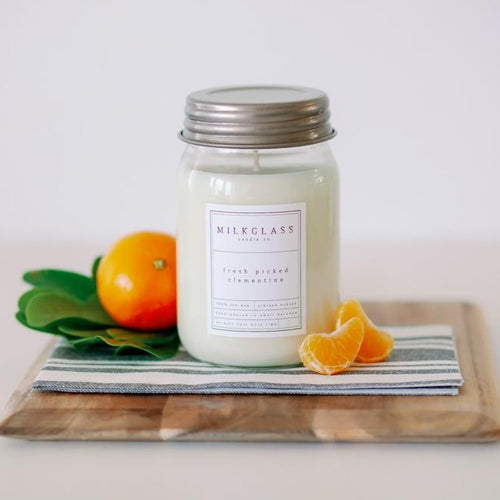 100% Soy Wax Citrus Candles