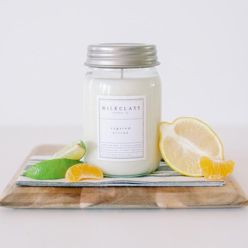 Citrus Candles - Soy Candles - Volcano Candle - Anthropology Volcano Candle