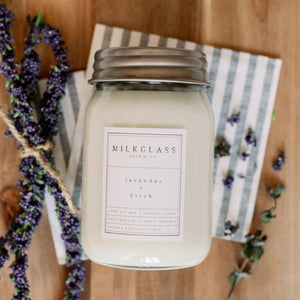 Lavender + Birch 16oz Jar
