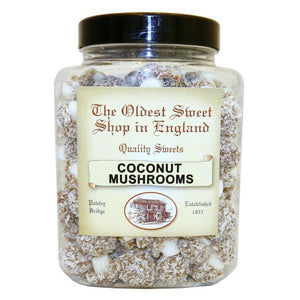 Coconut Mushrooms Jar