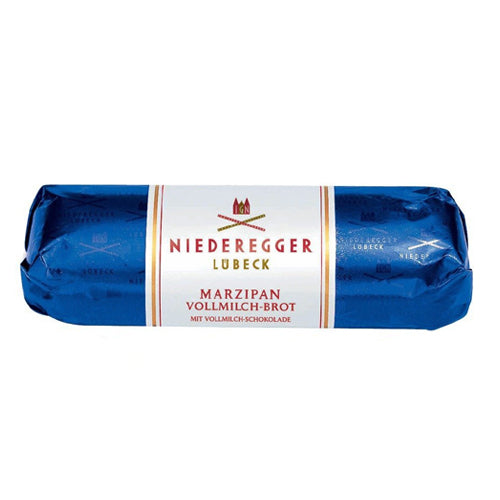 Niederegger Milk Chocolate Marzipan Loaf (Blue)