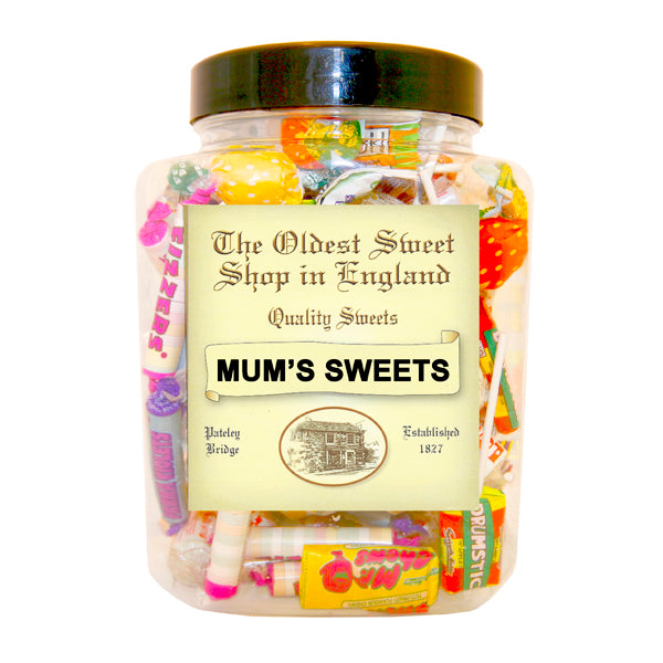 Mum's Retro Sweet Jar