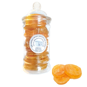 Candied Orange Slices in a Jar