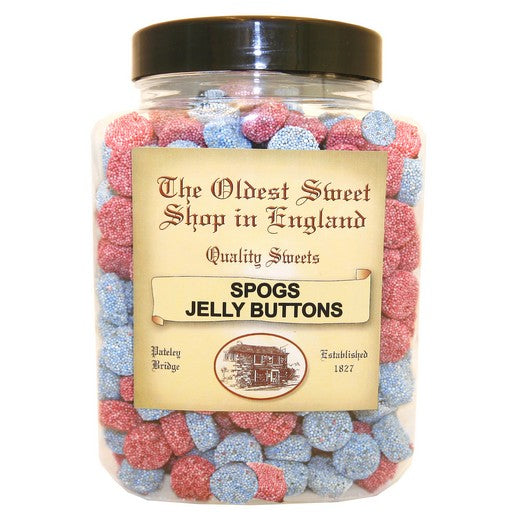Spogs ('Jelly Buttons') Jar